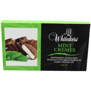 WHITAKERS MINT CREMES 150G