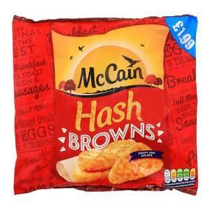MCCAIN HASH BROWNS 625G