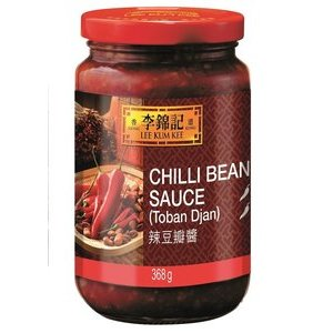 LEE KUM KEE CHILI BEAN SAUCE 368G best by 14/08/2019