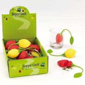 FRUIT SHAPED SILICONE TEA FILTER