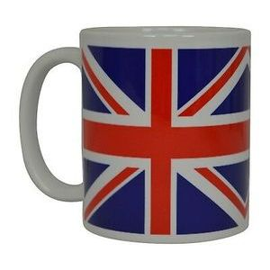 TAZZA EXTRA LARGE UNION JACK