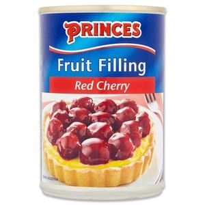PRINCES RED CHERRY FILLING 410G