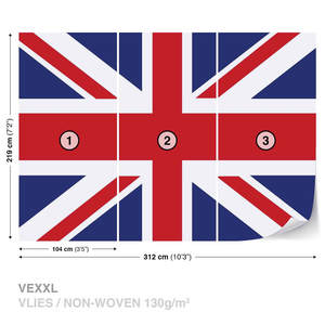 HAND HELD UNION JACK FLAG