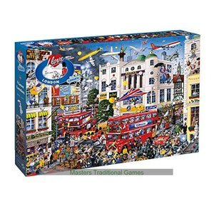 GIBSONS I LOVE LONDON PUZZLE 1000pcs