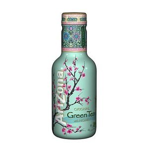 ARIZONA ORIGINAL GREEN TEA WITH HONEY 500ML