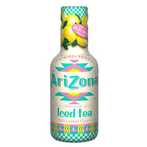 ARIZONA ICED TEA WITH LEMON 500ML best by 12/2019