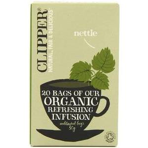 CLIPPER NETTLE TEA BAGS 20S
