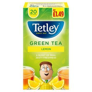 TETLEY GREEN TEA 50S