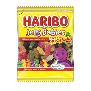 HARIBO JELLY BABIES CARAMELLE GOMMOSE 180G