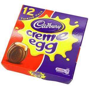 EASTER - CADBURY CREME EGG 12 PACK