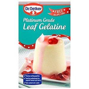 DR. OETKER GELATIN LEAVES 13G