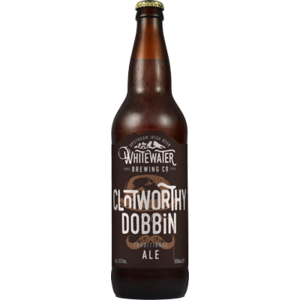 WHITEWATER BREWERY CLOTWORTHY DOBBIN ALE 500ML best by 08/08/2020