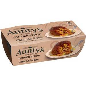 AUNTY'S GINGER PUDDING