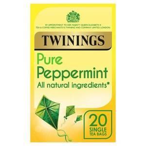 TWININGS PEPPERMINT TEA 20S
