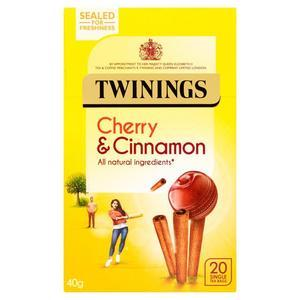 TWININGS CHERRY & CINNAMON 20S