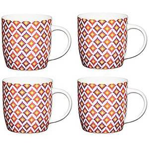 KitchenCraft China Moroccan Tiles Mug