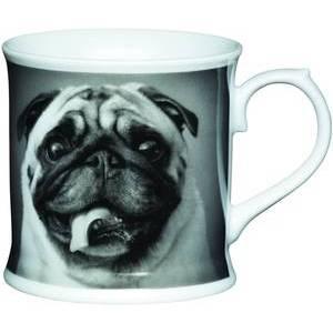 KitchenCraft Fine Porcelain Pug Mug