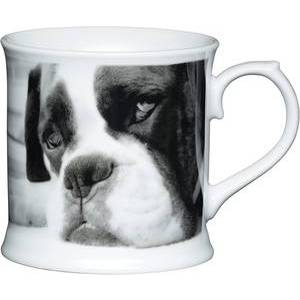KitchenCraft Fine Porcelain Boxer Mug
