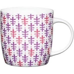 KitchenCraft China Moroccan Leaf Barrel Mug