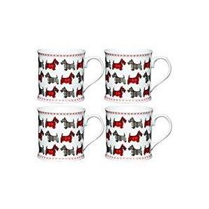 KitchenCraft Scottie Dog Fine Porcelain Scottie's Friends Mug