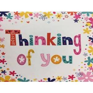 GREETING CARD THINKING OF YOU BLANK
