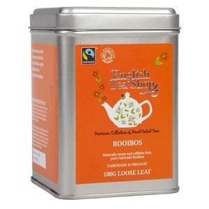 ENGLISH TEA SHOP ORGANIC ROOIBOS LOOSE LEAF TEA 100G