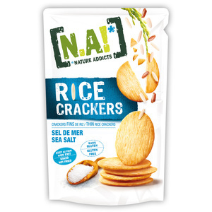 RICE CRACKERS N.A SALT 70G