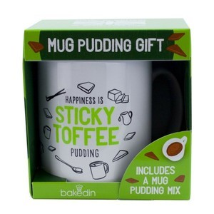 BAKEDIN STICKY TOFFEE MUG GIFT SET