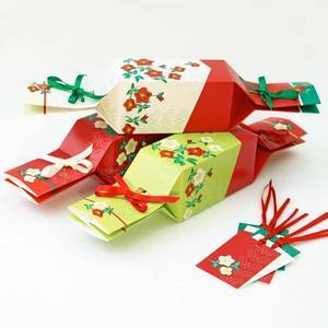 KEEP THIS CRACKER - REUSABLE CHRISTMAS CRACKERS 6PCS
