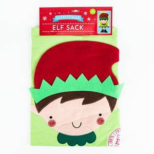 GIFTMAKE ELF SACK WITH LEGS