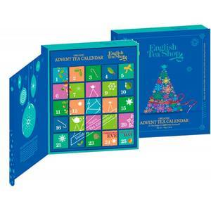 ENGLISH TEA SHOP ADVENT CALENDER BLUE