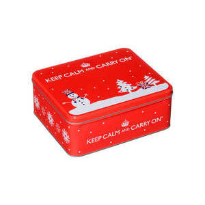 KEEP CALM AND CARRY ON (RED TIN) 125G
