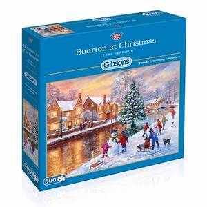 GIBSONS BOURTON AT CHRISTMAS PUZZLE 50PCS