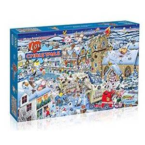 GIBSONS I LOVE CHRISTMAS PUZZLE 1000 by Mike Jupp