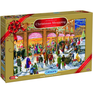 GIBSONS WRAPPED UP FOR CHRISTMAS  PUZZLE NATALIZIO 1000 di Marcello Corti