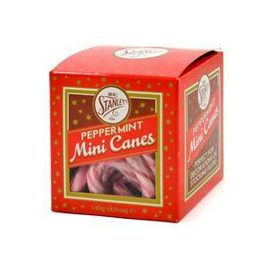 MR. STANLEY PEPPERMINT MINI CANDY CANES 140G