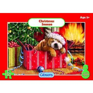 GIBSONS CHRISTMAS SNOOZE PUZZLE AGE 5+ 150