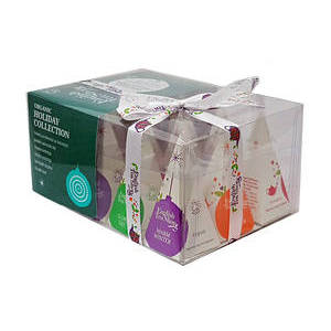 ENGLISH TEA SHOP GREEN BAUBLES PRISM TEA HOLIDAY COLLECTION 12S