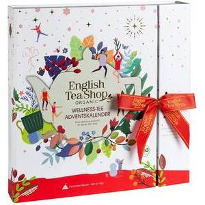 ENGLISH TEA SHOP WHITE ADVENT CALENDAR 25 BAGS