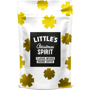 LITTLE'S CHRISTMAS SPIRIT GROUND COFFEE 100G best by 08/2020