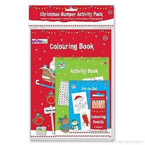 CHRISTMAS BUMPER ACTIVITY PACK