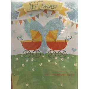 GREETING CARD - IT'S TWINS