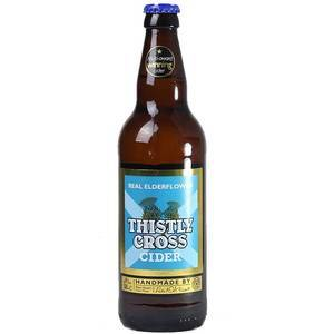 THISTLY CROSS ELDERFLOWER CIDER 330ML
