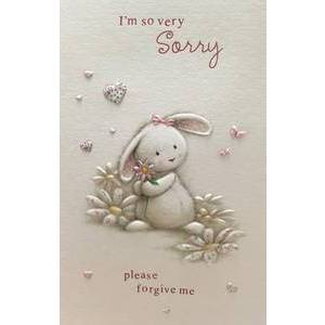 GREETING CARD - I'M SO VERY SORRY