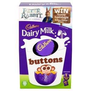 CADBURY BUTTONS EASTER EGG SMALL 85G