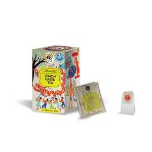 MINISTRY OF TEA LEMON GREEN TEA 20S