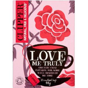 CLIPPER LOVE ME TRULY CHAI TEA 20S (copia) best by 20/09/2020