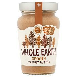 WHOLE EARTH ORGANIC PEANUT BUTTER SMOOTH 340g