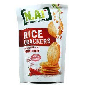 NATURE ADDICTS RICE CRACKERS SWEET CHILI 70G