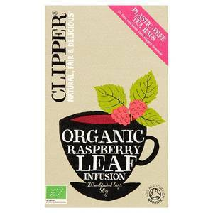 CLIPPER RASPBERRY LEAF TEABAGS 20S (copia) best by 15/11/2020